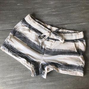 Lou & Grey Striped Drawstring Shorts